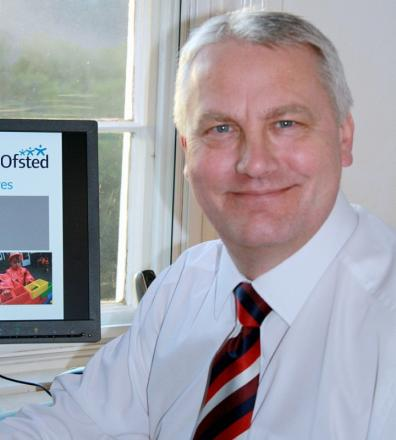 Ofsted regional director Mike Cladingbowl