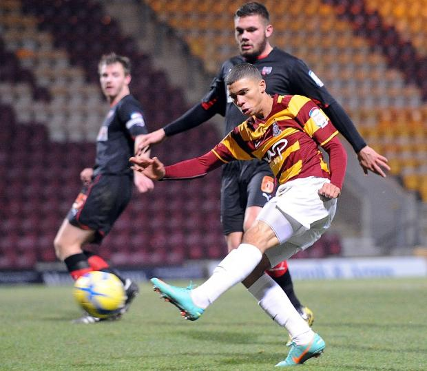 City joint-chairman Mark Lawn insists the club have not received one bid for Nahki Wells, pictured, and maintains the club don't intend to sell him