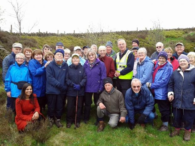 Cullingworth Walkers are among the groups which meet regularly in the district