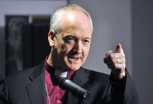 The Bishop of Bradford, the Right Reverend Nick Baines, who has protested to David Cameron