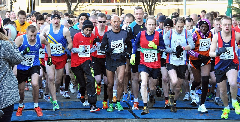 Runners have complained about the Bradford City Run, which was cut short due to a marshalling blunder