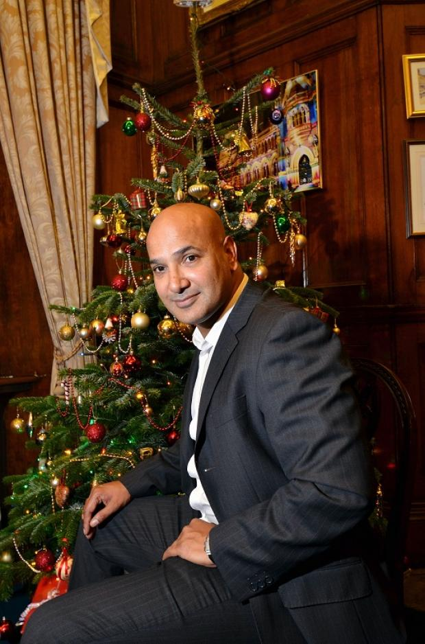 Restaurant owner Shabir Hussain who has given £6,000 to our appeal