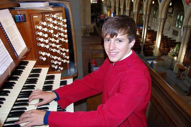 Fifteen-year-old Henry Websdale has been awarded the Associateship of the Royal College of Organists