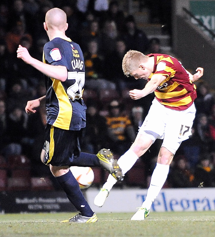 Bradford City: Sensation-al late Connell strike breaks Torquay's resistance