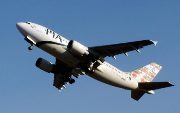 A Pakistan International Airlines plane