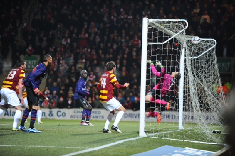 Bantams have a blast to beat misfiring Gunners