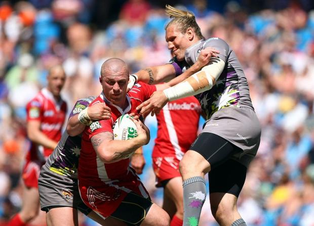 Salford City Reds' prop Adam Sidlow would add much-needed power to the Bulls pack