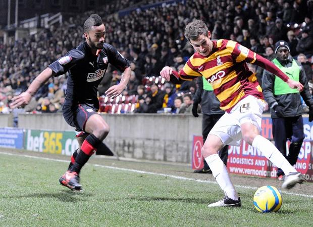 Bradford Telegraph and Argus: Will Atkinson is City's most improved player this season
