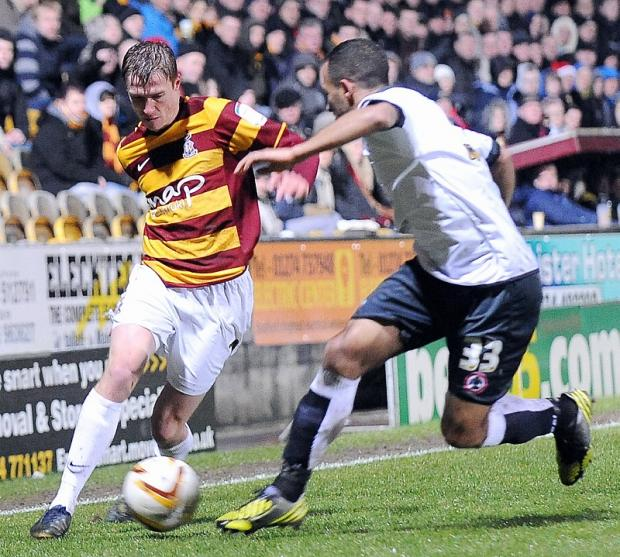 POSITIVE THINKING: Stephen Darby, left, loves the mentality that winning matches brings