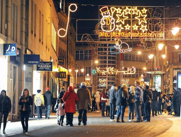 Bradford's Christmas lights