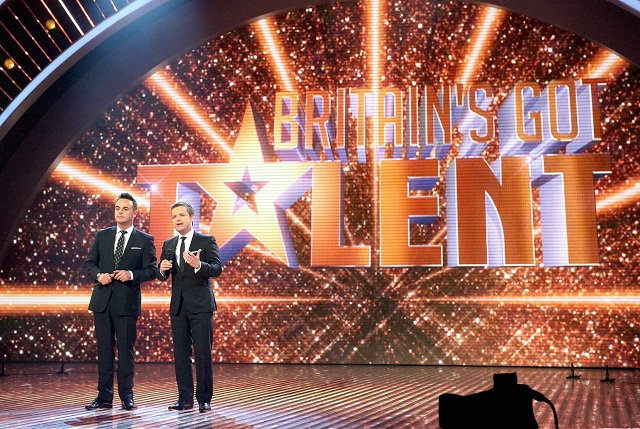 Ant & Dec on the Britain's Got Talent stage
