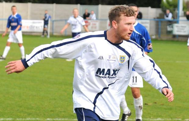 Lee Tuck in action during his spell at Guiseley