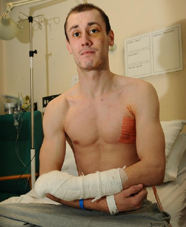 Anthony Rogivska recovering in hospital