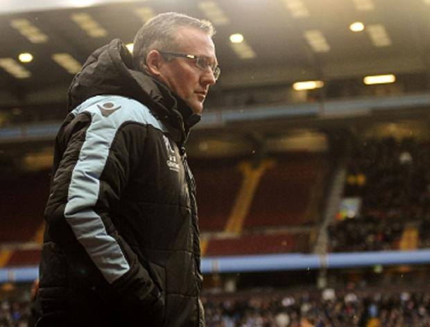 Villa manager Paul Lambert