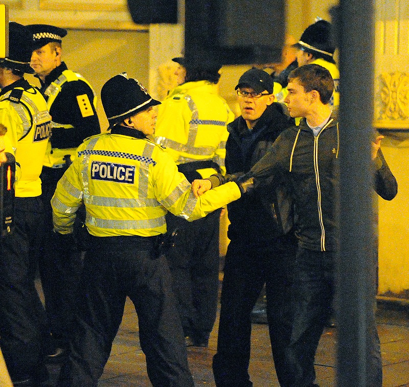 Bradford City fan claims he was headbutted ahead of Aston Villa clash