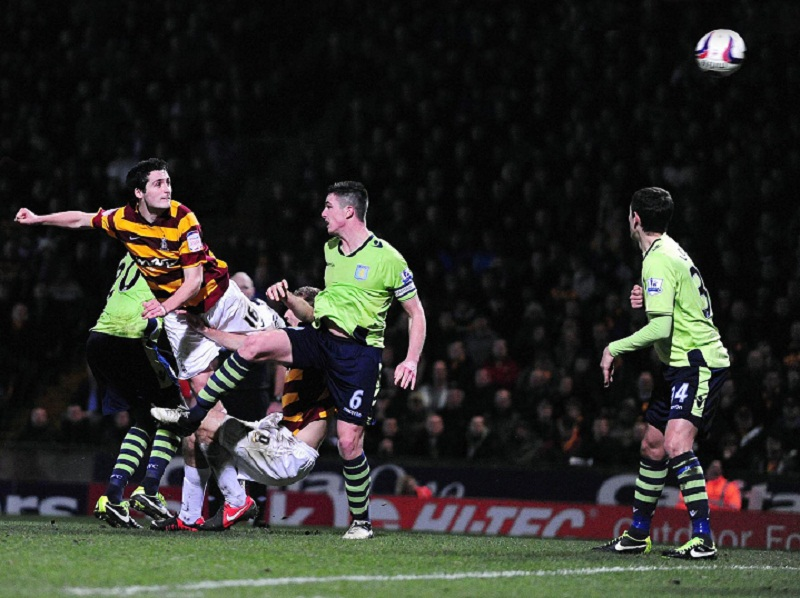 Result will send shockwaves right round the world, says stunned Bradford City chairman
