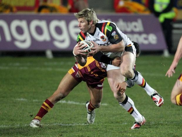Bradford Telegraph and Argus: Former Bulls favourite Glenn Morrison pits his Dewsbury side against his old club on Sunday