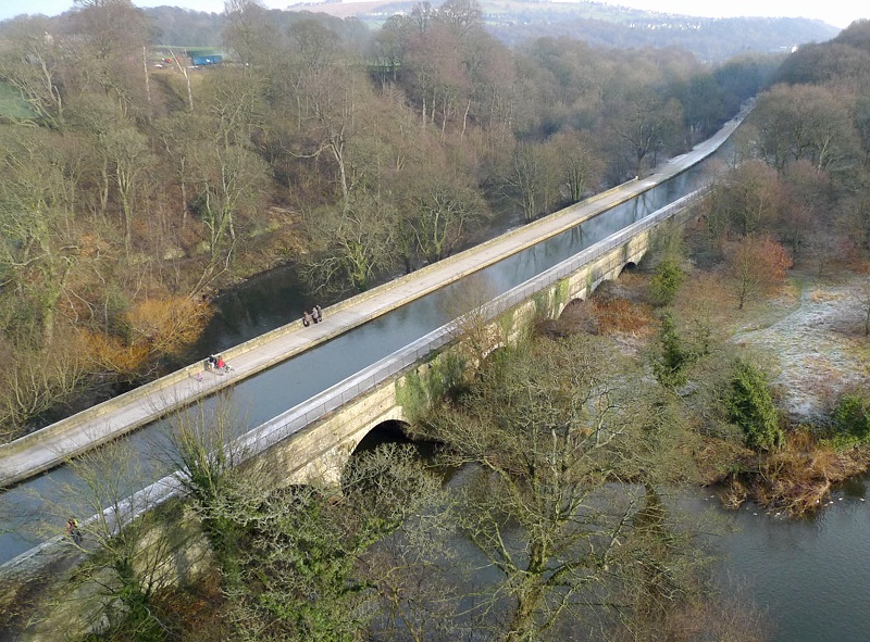 The Dowley Gap Aqueduct on the Leeds & Liverpool Canal near Bingley will host its first public open day