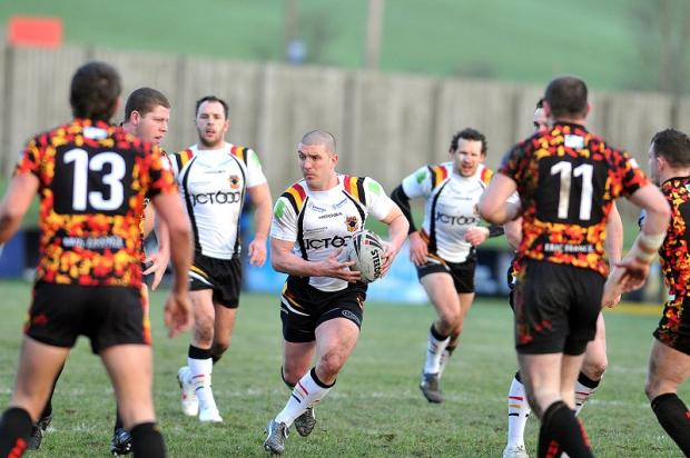 Matt Diskin in action during last year's pre-season match at Dewsbury