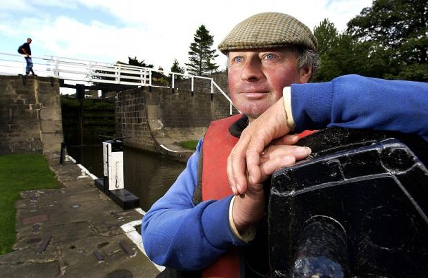 Lock keeper Barry Whitelock