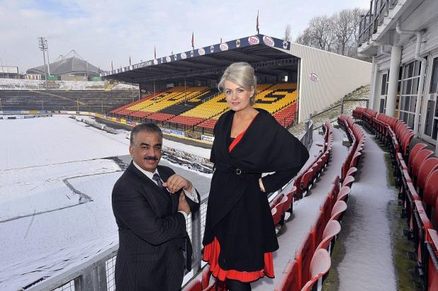 Kate Hardcastle is settling in at Odsal after being appointed as a non-executive director of the Bulls alongside owner Omar Khan