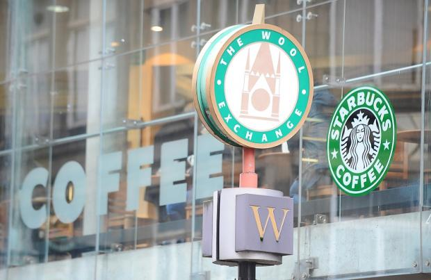The Starbucks coffee shop in Waterstones book store is closing