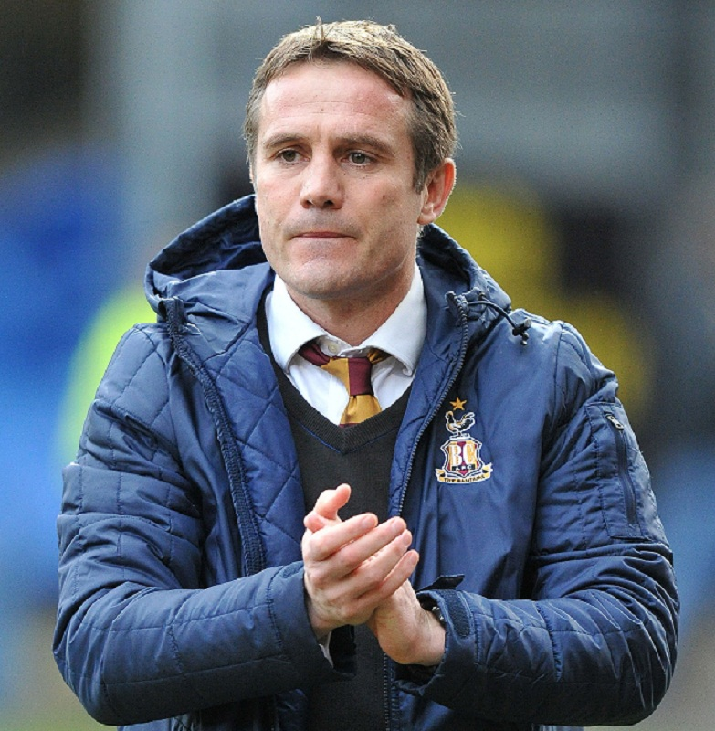 Bradford City boss Phil Parkinson has applauded his tireless players