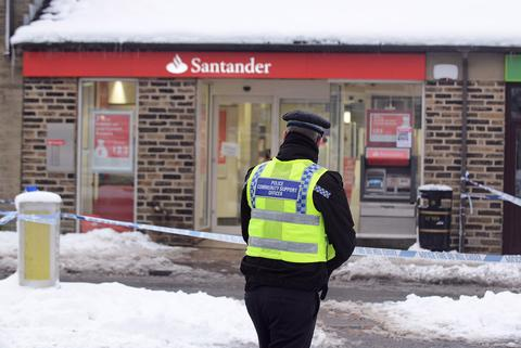Robbers strike at bank in Bradford