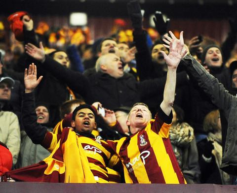 Fans delight at Villa Park