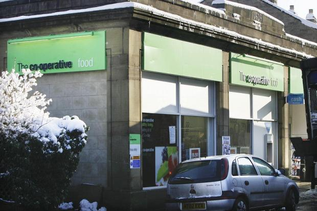 Oxenhope's Co-Operative food shop, which could host post office services