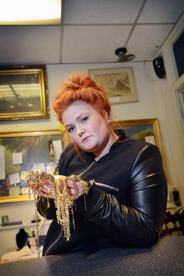 Jewellery shop manager Amanda Ryan who has signed up to the scheme