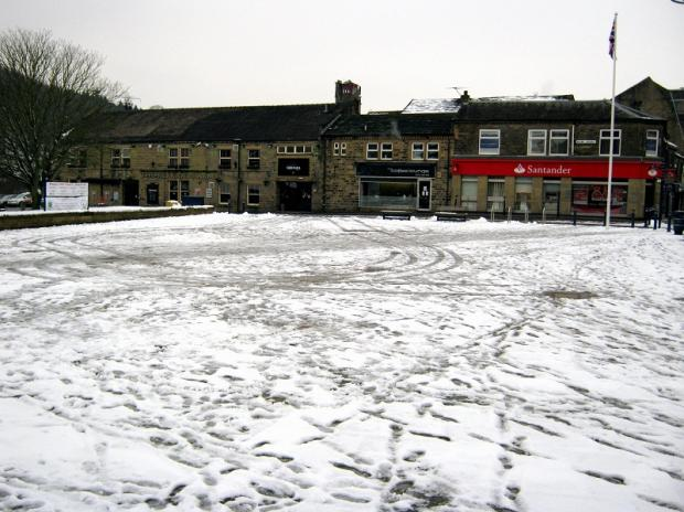 An empty Bingley Market