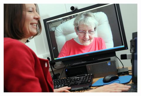 New telemedicine technology praised for helping Geoff die with dignity at home (From Bradford Telegraph and Argus)