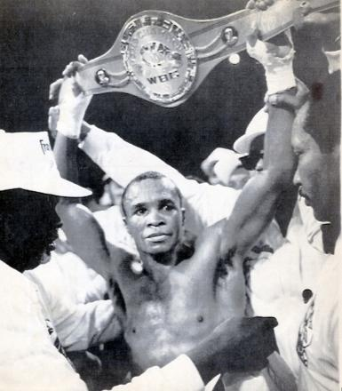Boxer Sugar Ray Leonard won world titles in five weight divisions