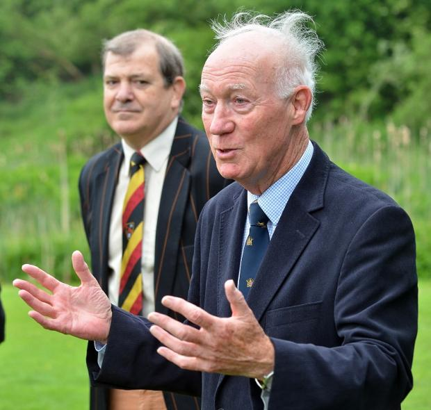 Peter Whitehead put countless hours into Bradford & Bingley Cricket Club, and particularly their junior section