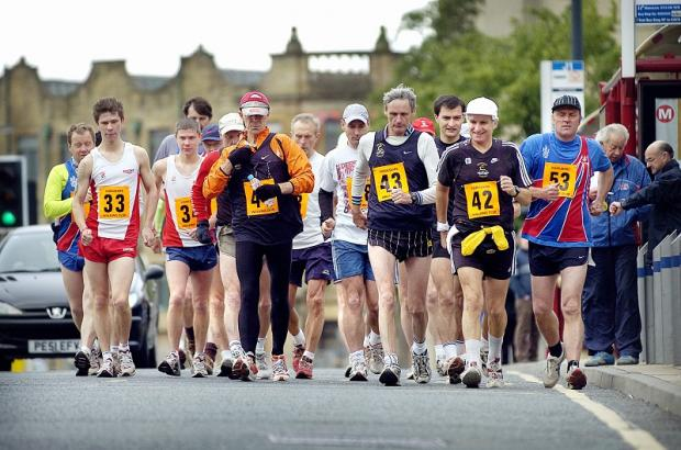 Bradford Whit Walk, pictured is being replaced by a 35km event around Baildon Moor