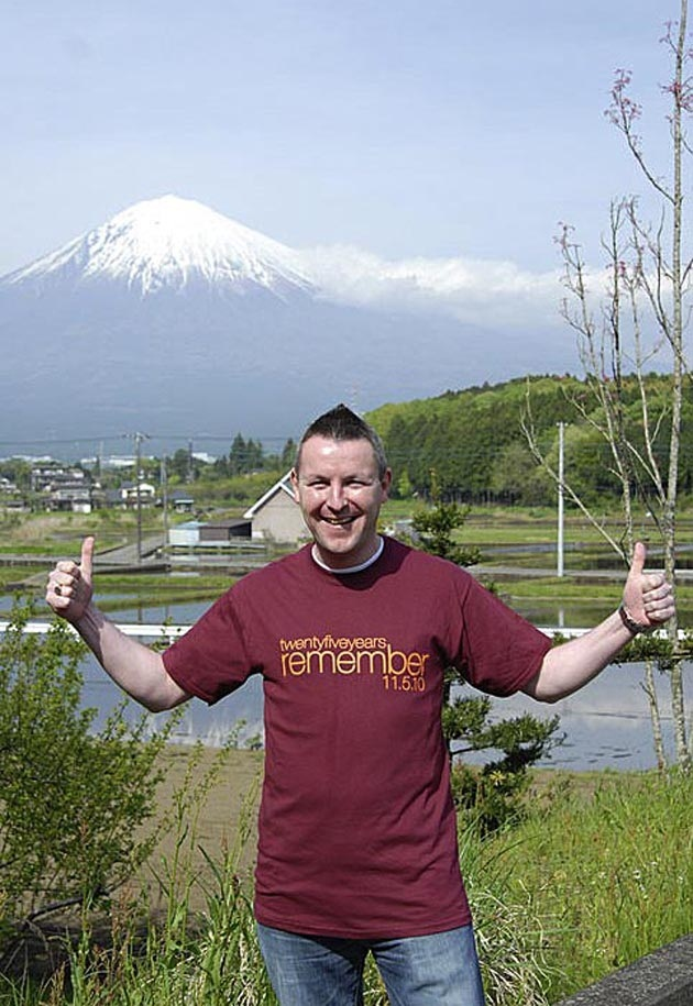 English teacher Mark Smith in Japan