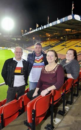 From left, Tony Tudor, Barry Fawthrop, Carol Coulshed and Claire Butterfield, who will become voluntary ambassadors