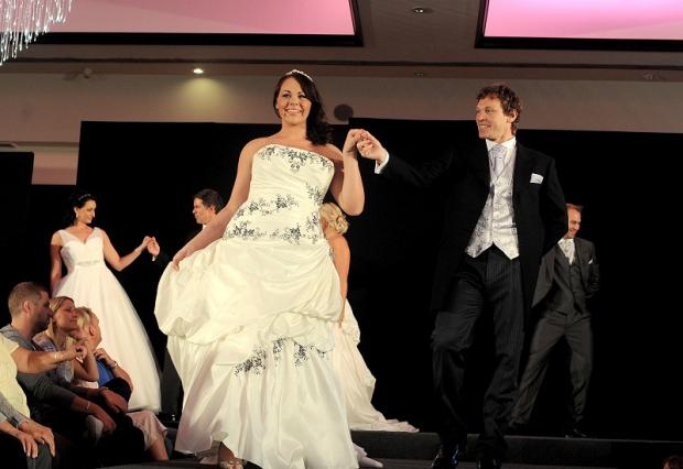 The wedding fair will feature two fashion shows
