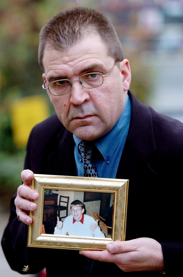 Tony Davison whose 18-year-old son Adrian died in a car accident in Bramhope in 2002, has been named Road Safety Educator of the Year