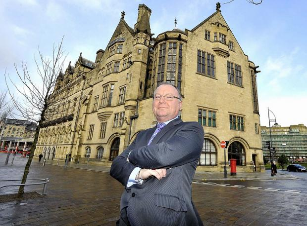 Andrew Bowker, chief executive officer of Bradford District credit union based in City Hall