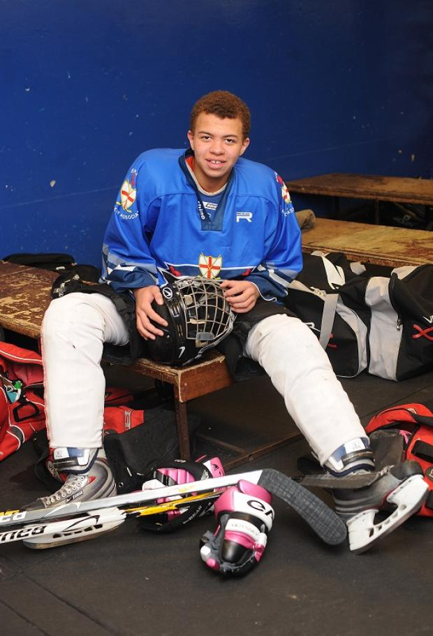 Myles Dacres is off to the World Championships with Great Britain under-18s