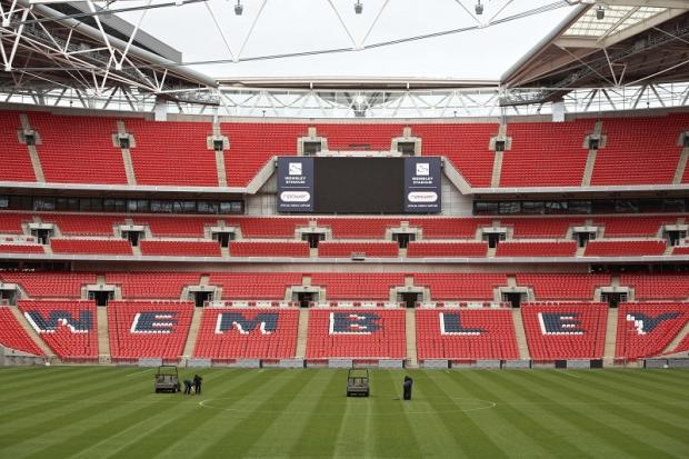 The mad rush for Wembley tickets will begin again next Thursday