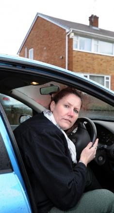 Debbie Pickford, whose car was seized by police