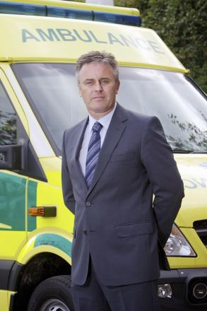 David Whiting, chief executive of the Yorkshire Ambulance Service NHS Trust