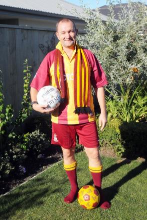 Des Erby, 51, will be travelling to Wembley from Christchurch in New Zealand for Bradford City's Cup final match