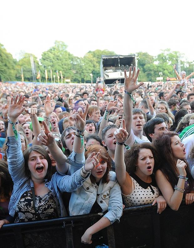 Bingley Music Live takes place at Myrtle Park at the end of the summer