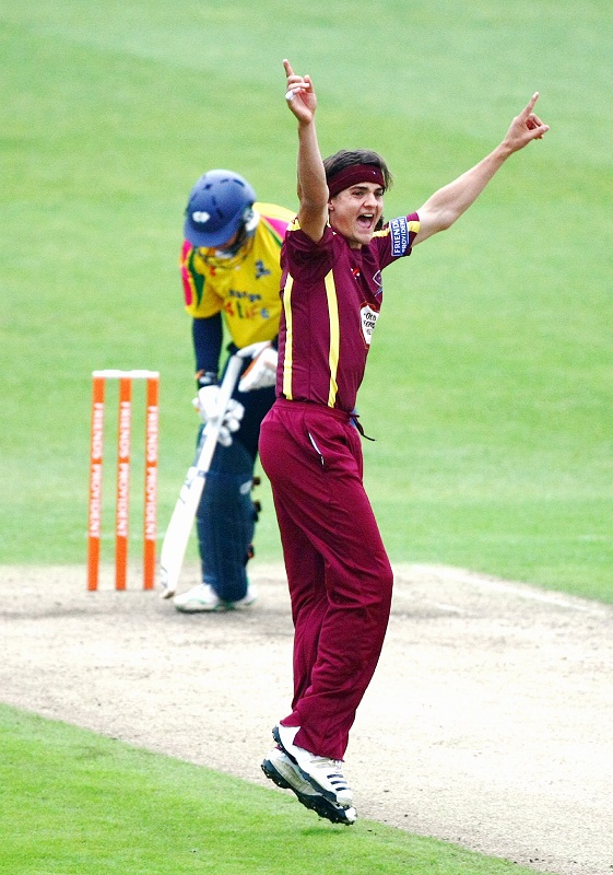 New signing Jack Brooks cannot wait to be bowling outdoors rather than in the indoor school