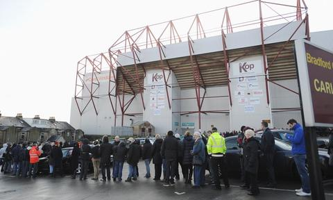 The queue for tickets this morning