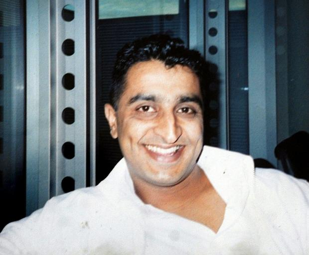 Sajid Saddique who disappeared on Valentine's Day 2007